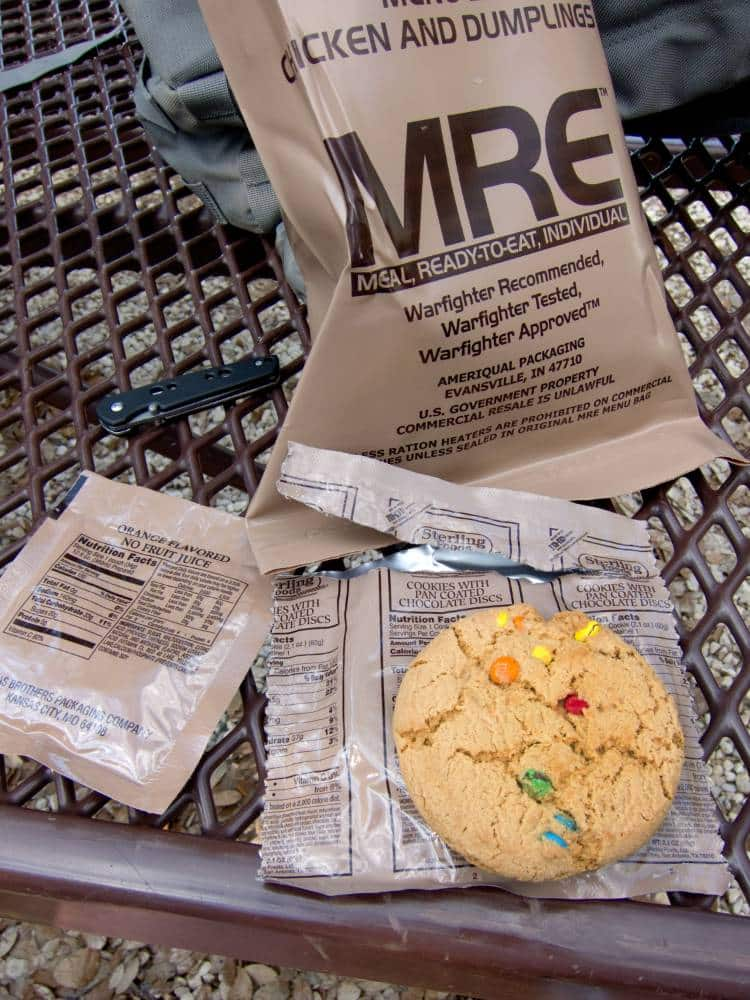 MRE meal ready to eat